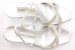 Santini Mavardi New Women's Shoes Size 5 US Linda Sandals Silver