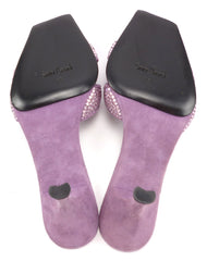 Santini Mavardi New Women's Shoes 35, 5 US Linda Sandal Pumps Purple
