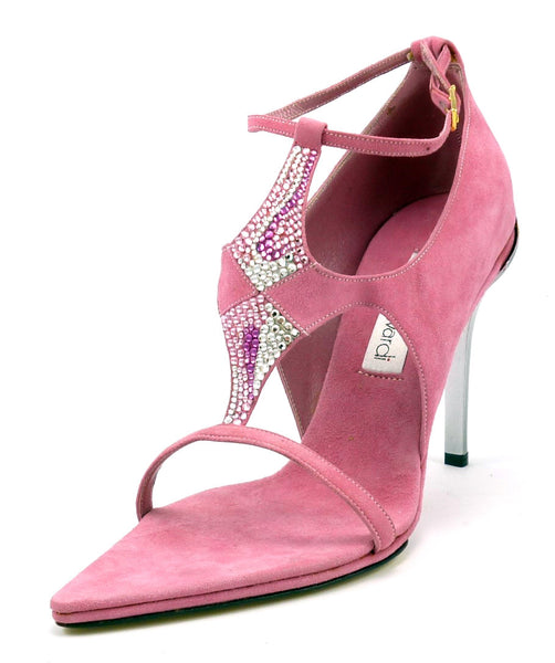 Santini Mavardi New Women's Shoes 39, 9 US Kriza Sandal Pumps Pink