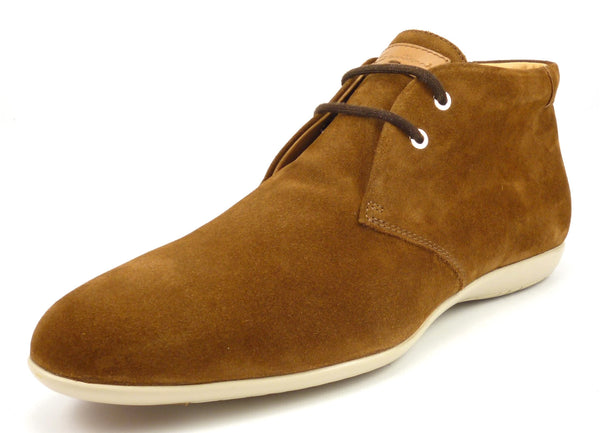 Santoni New Men's Shoes Size 11 US Suede Chukka Ankle Boots Brown