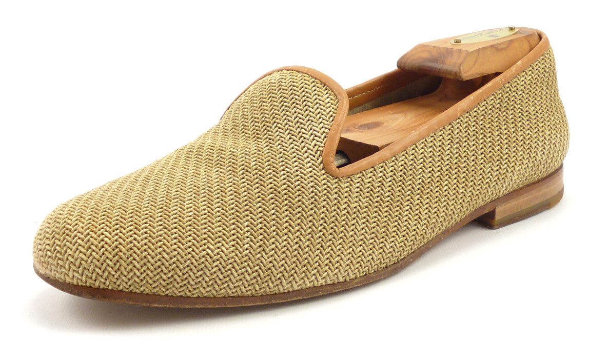 Stubbs & Wootton Woven Slipper Loafers buy cheap for nice find great for sale with paypal cheap price cheap 100% original gJR9Sx0As