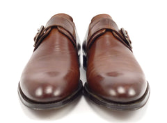 To Boot New York Men's Monk Straps Size 9 Brown