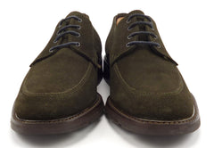 To Boot New York Mens Shoes 8.5 Suede Apron Toe Oxfords 833 Brown