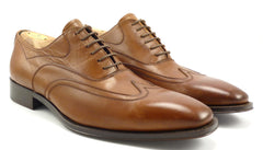 To Boot New York New Mens Shoes Size 11.5 US Lorenzo Leather Wingtip Oxfords Brown