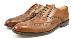 To Boot New York Mens Shoes Size 9.5 Leather Wingtip Oxfords Brown