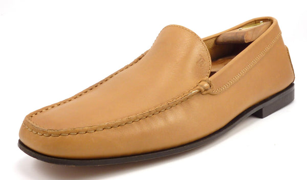 Tod's Men's Shoes Size 11, 12 US Leather Slip On Loafers Brown Pre-owned
