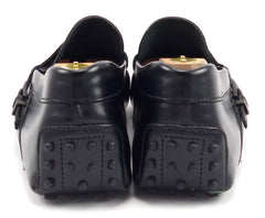 Tod's Men's Gommino Moccasins Size 11.5 US Black