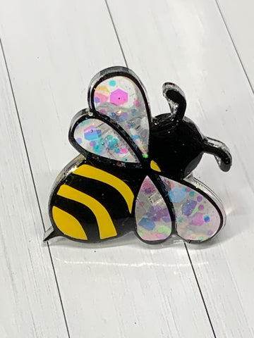 Bumble Bee Straw Charm