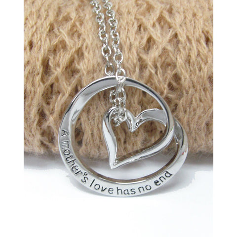 A Mother's Love Has No End Necklace