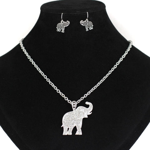 Elephant Necklace Set