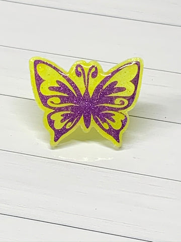 Butterfly Straw Charm