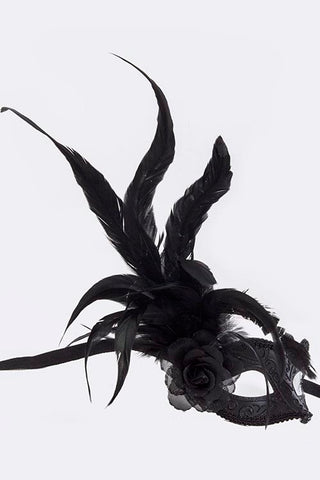 Black Mardi Gras Mask