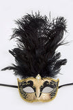 Black and Gold Mardi Gras Mask