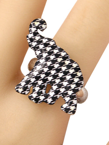 Houndstooth Elephant Ring
