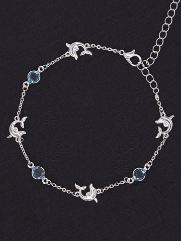 Dolphin Anklet