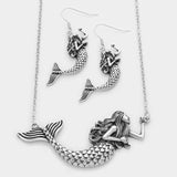 Mermaid Necklace Set
