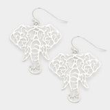 Elephant Earrings