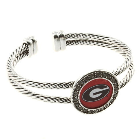 Georgia Bulldogs Bracelet