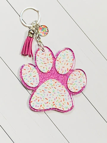 Your Paws Were Ready Keychain