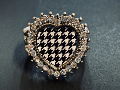 Houndstooth Ring