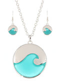 Wave Necklace Set