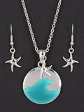 Sealife Wave Necklace Set