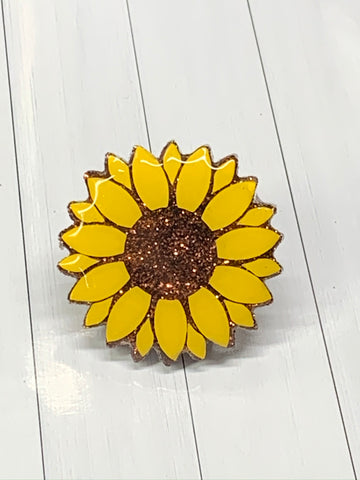 Sunflower Straw Charm