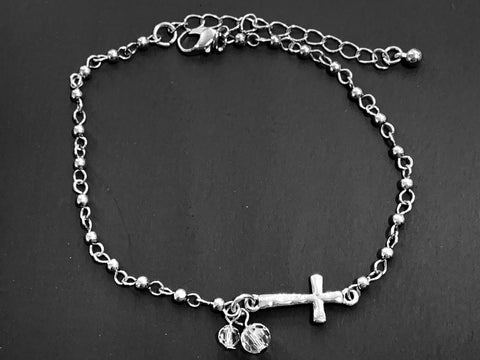 Cross Anklet