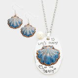 Life is Peachy at the Beach Necklace Set