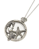 Sea Life Magnifying Glass Necklace