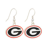 Georgia Bulldogs Earrings