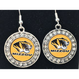 Missouri Tigers Earrings