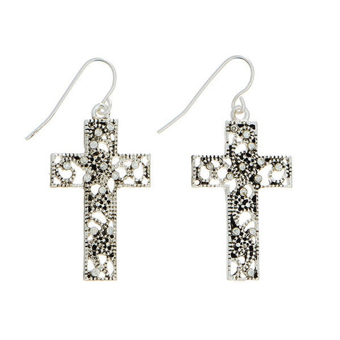 Cross Earrings