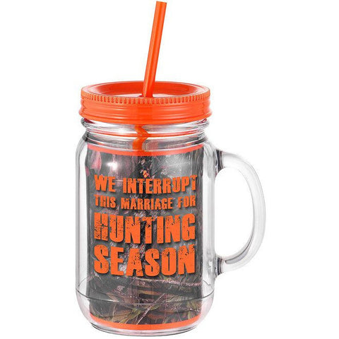 Hunting Season Mason Jar Mug