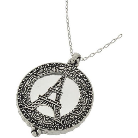 Eiffel Magnifying Glass Necklace