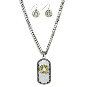 Ammo Necklace Set