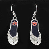 Auburn Flip Flop Earrings