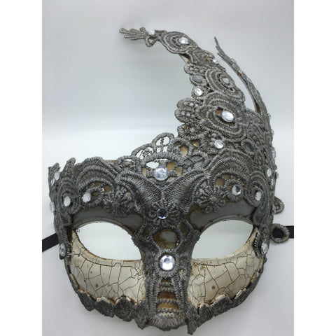Antiqued Mardi Gras Mask