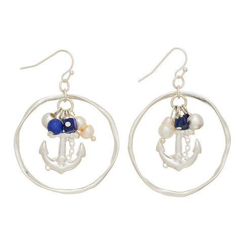 Anchor Earrings