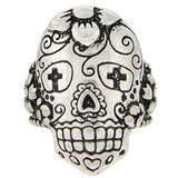 Sugar Skull Stretch Ring