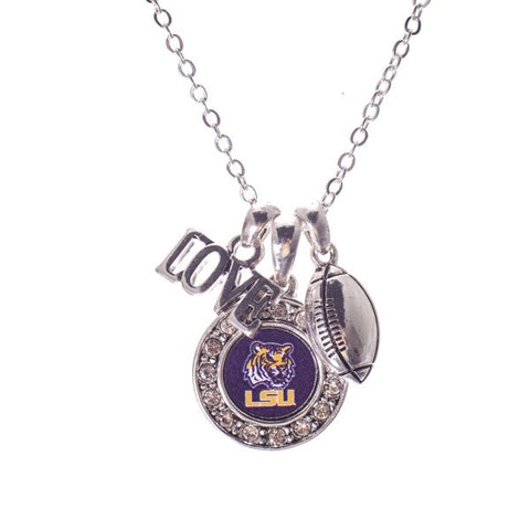 LSU Tigers Necklace