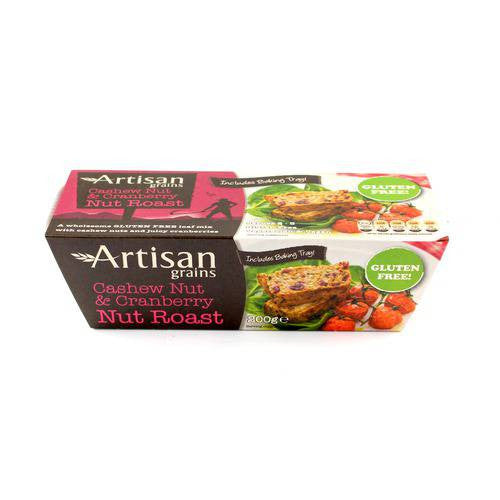 Artisan Grains Cashew & Cranberry Gluten Free Nut Roast