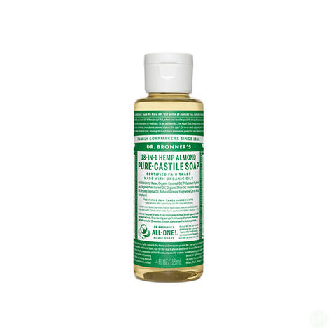 Dr. Bronners Almond Pure-Castile Liquid Soap