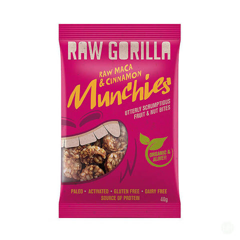 Raw Gorilla Raw Maca & Cinnamon Munchies