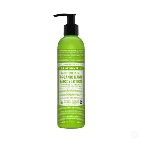 Dr. Bronner Organic Patchouli Lime Lotion