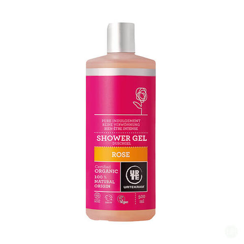 Urtekram Organic Rose Shower Gel