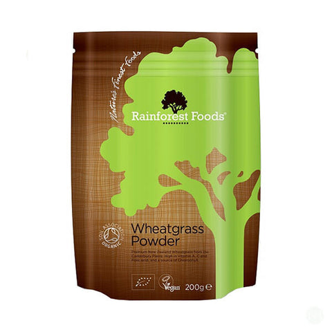 Rainforest Foods Organic Wheatgrass Powder