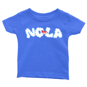 NOLA Clouds | Kids tee