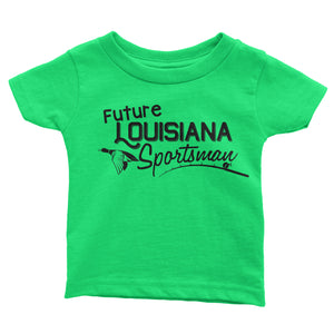 Future Louisiana Sportsman | Toddler tee