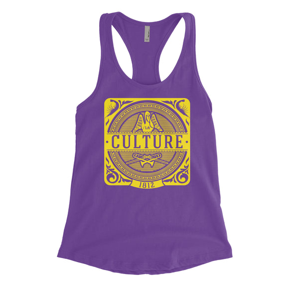 Louisiana Culture | Ladies Racerback Tank